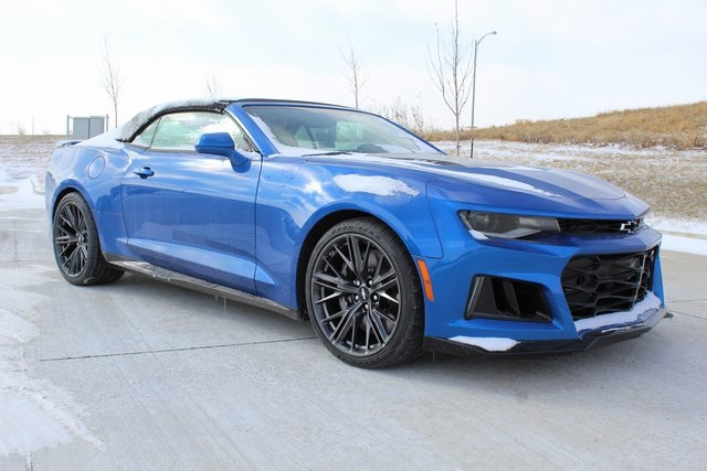New 2018 Chevrolet Camaro Zl1 2d Convertible In Omaha
